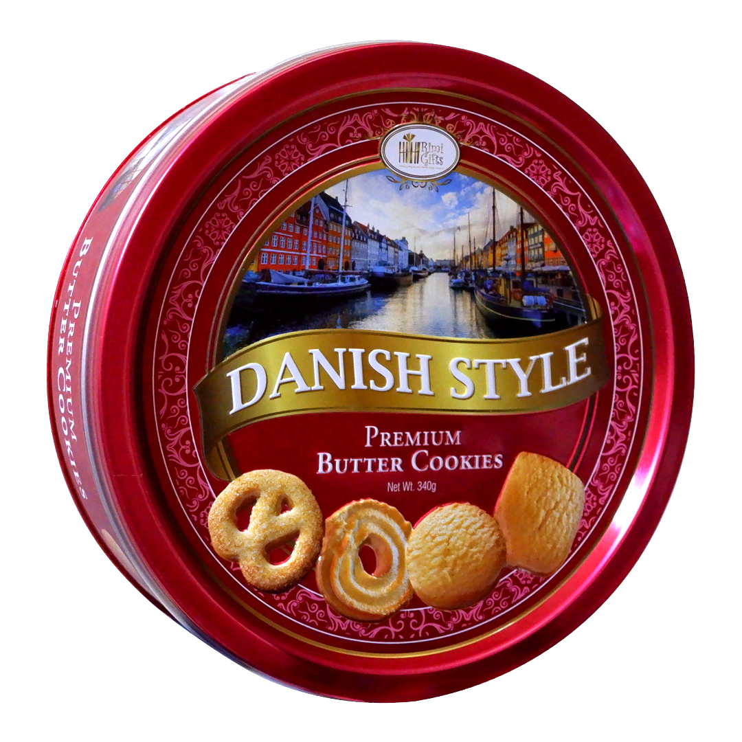 RIMI Gifts Danish Style Premium Butter Cookies 340g