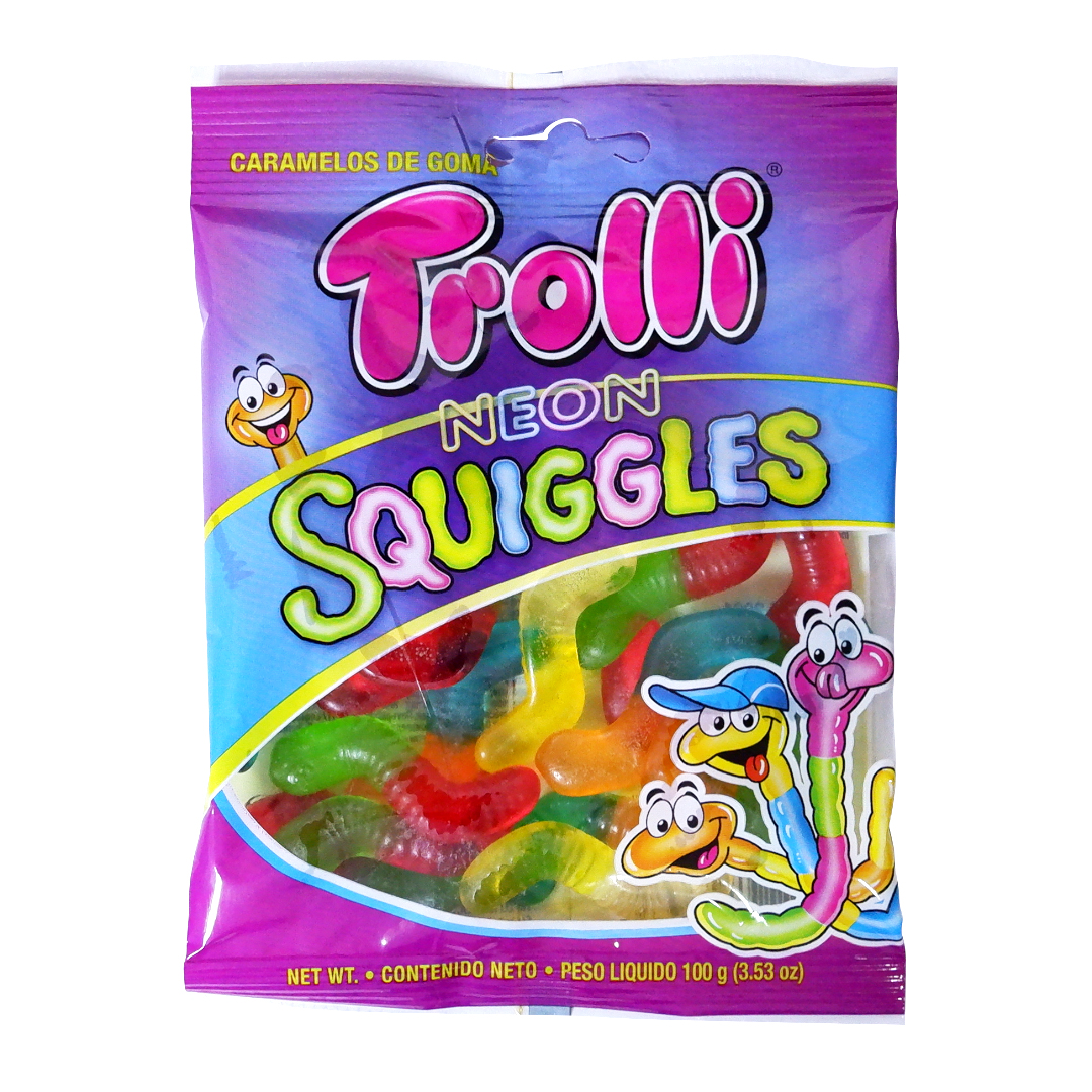 Trolli Neon Squiggles 100g