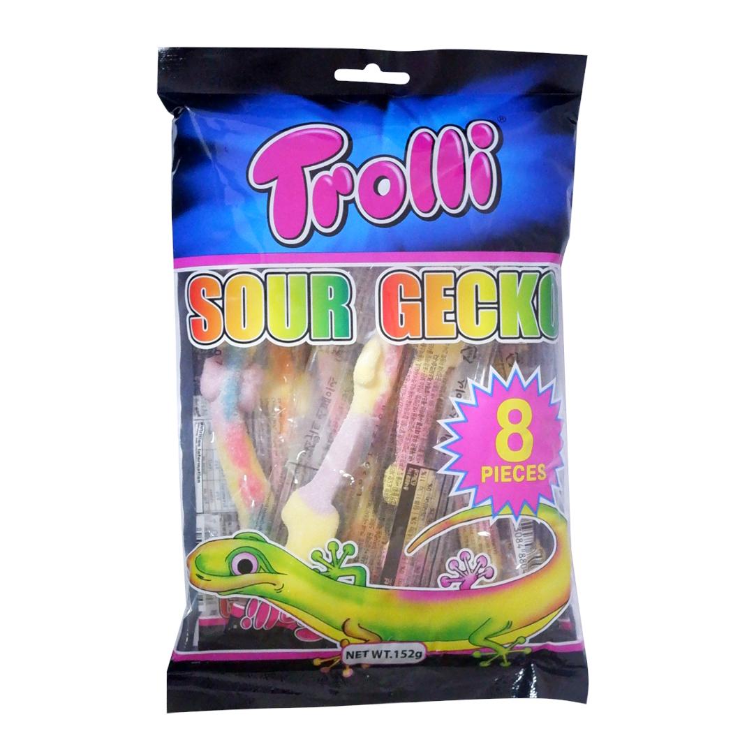 Trolli Sour Gecko 152g