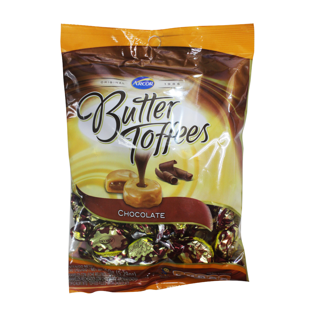 Arcor Butter Toffees Chocolate 150g
