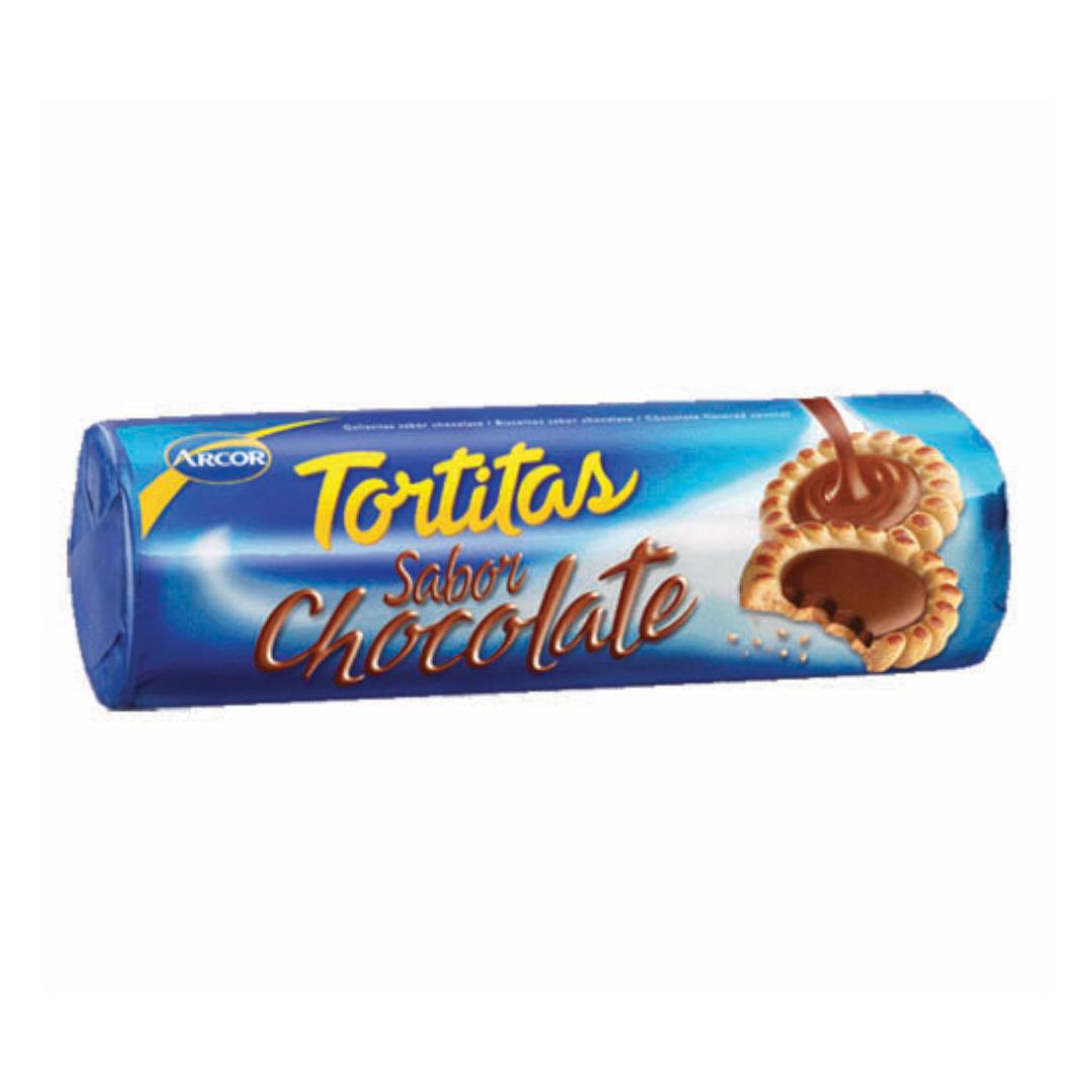 Arcor Tortitas Chocolate 125g