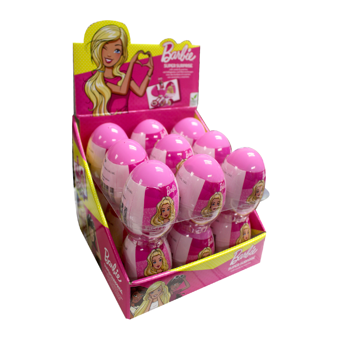 Barbie Surprise Eggs with Sweet and Surprises Inside 10g