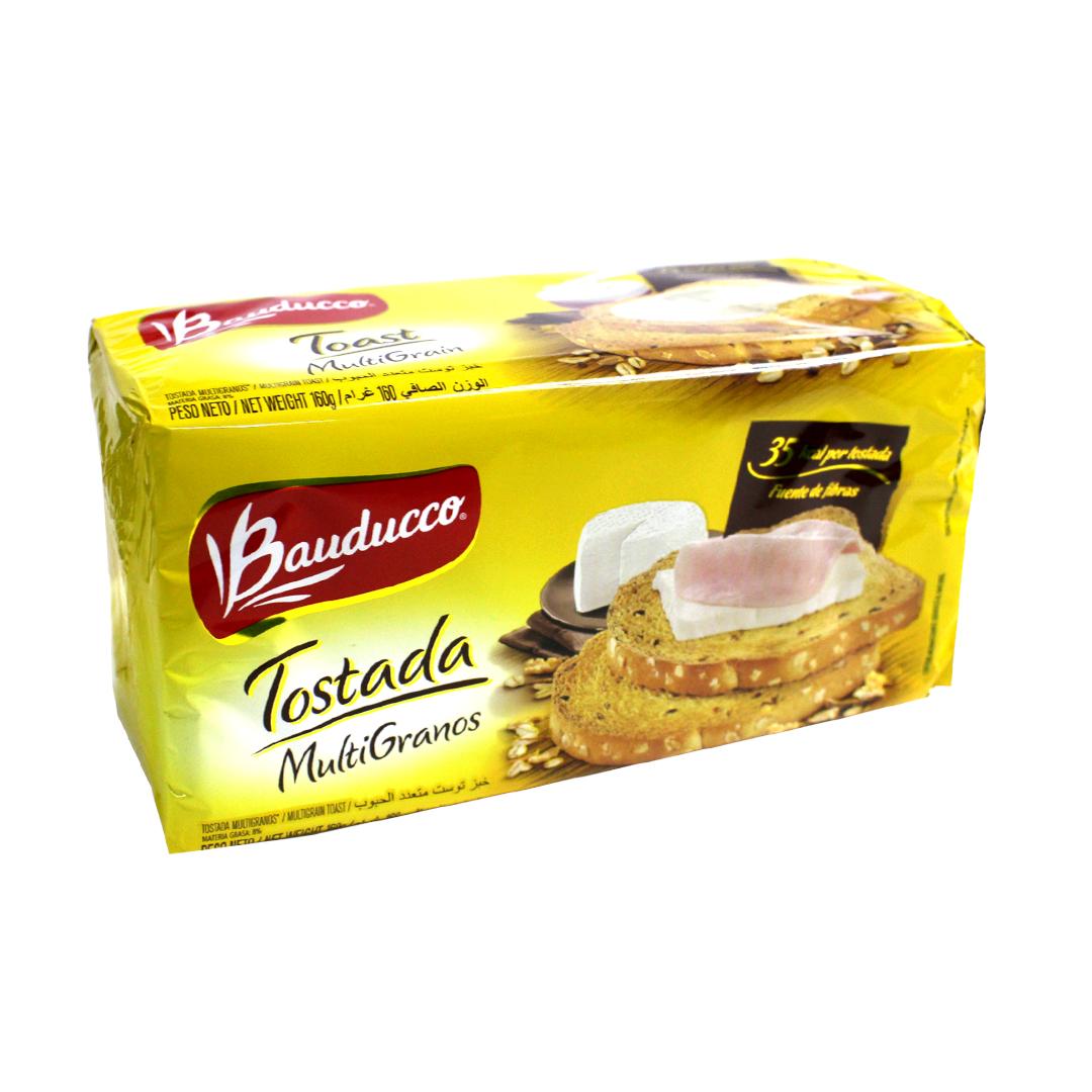 Bauducco Toast Multigrain 160g