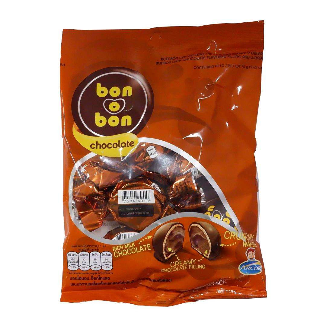 Arcor Bon O Bon Chocolate 75g