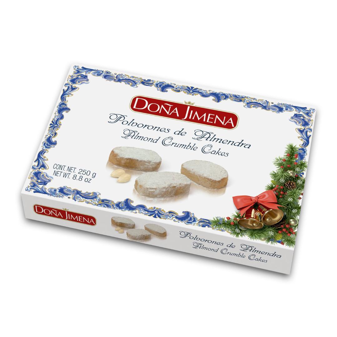 Doña Jimena Almond Crumble Cakes 250g