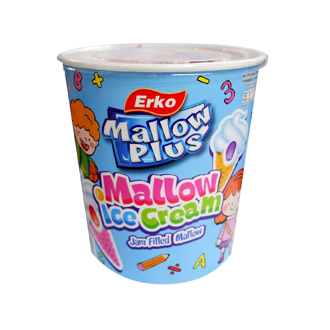 Erko Ice Cream Mallow Strawberry Filling 200g