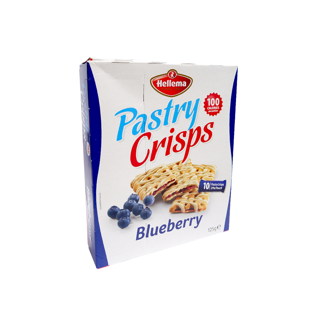 Hellema Pastry Crisps Blueberry 125g