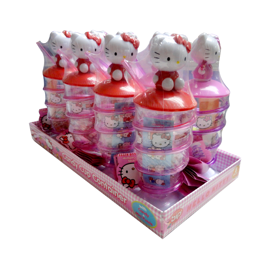 Hello Kitty Candy Cup with Candy 21g