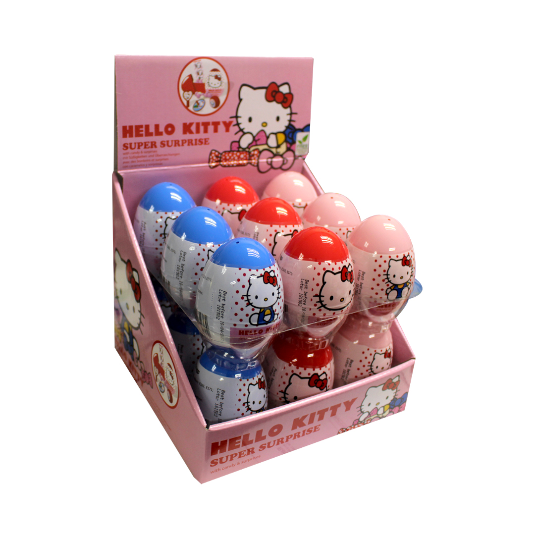 Hello Kitty Surprise Egg with Sweet and Surprises Inside 10g