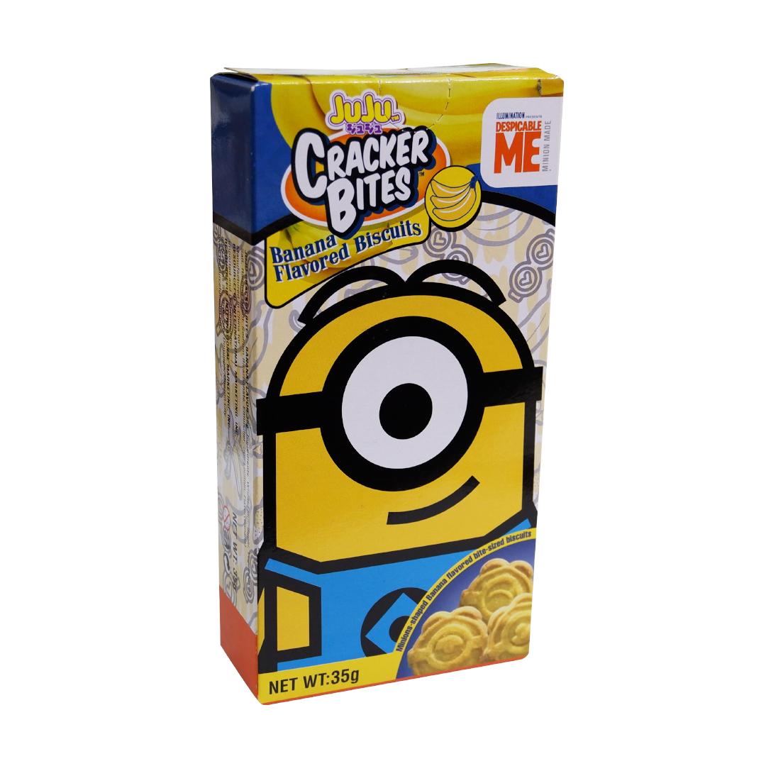 Juju Cracker Bites 35g Banana Flavor