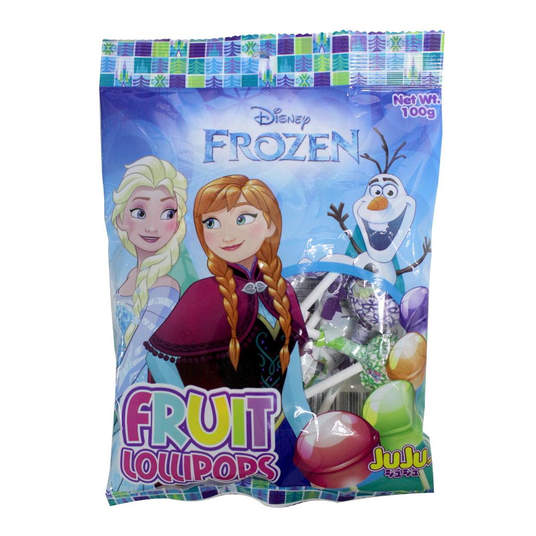 Juju Fruit Lollipop 100g Frozen