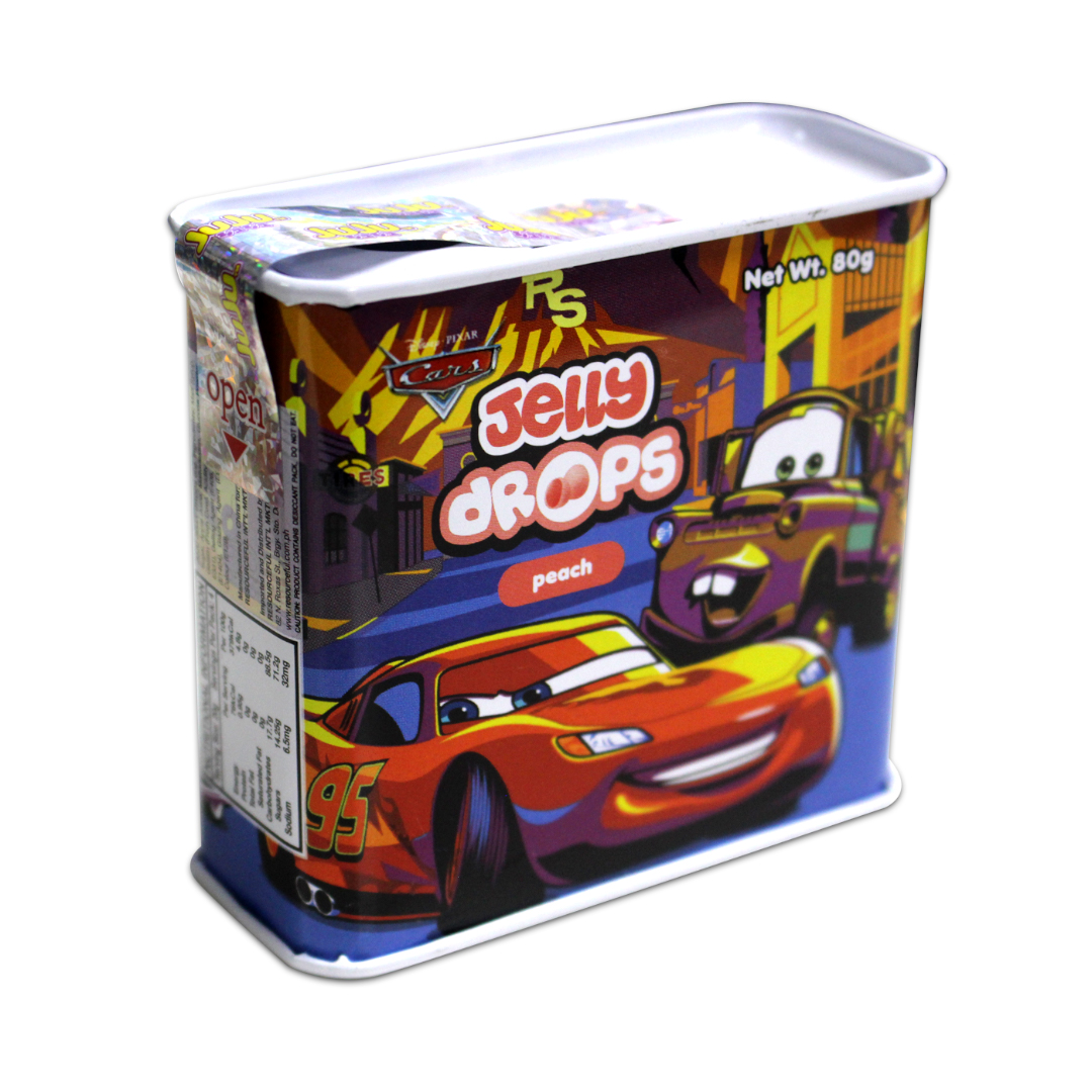 Juju Jelly Drops Peach 80g Cars