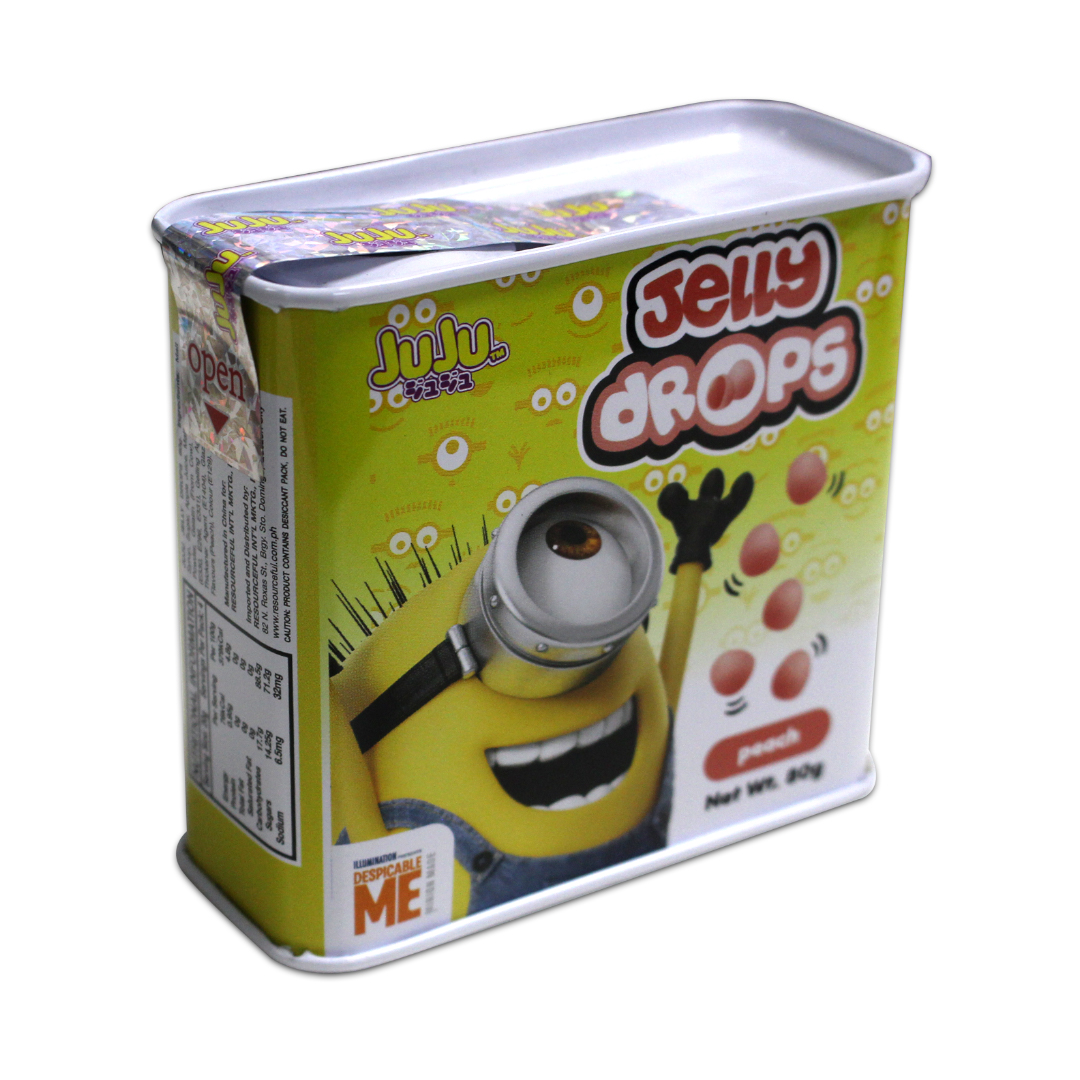 Juju Jelly Drops Peach 80g Minions