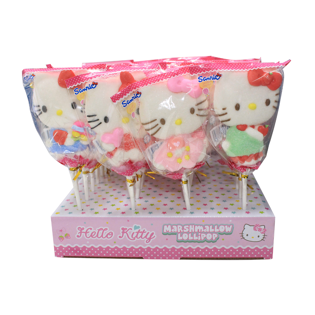 Juju Marshmallow Lollipop 35g Hello Kitty