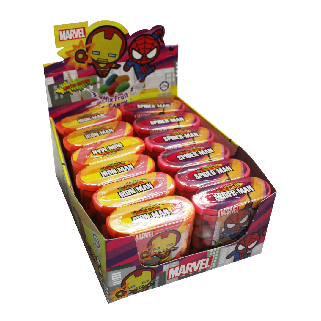 Marvel Kawaii Fruit Candy 17g