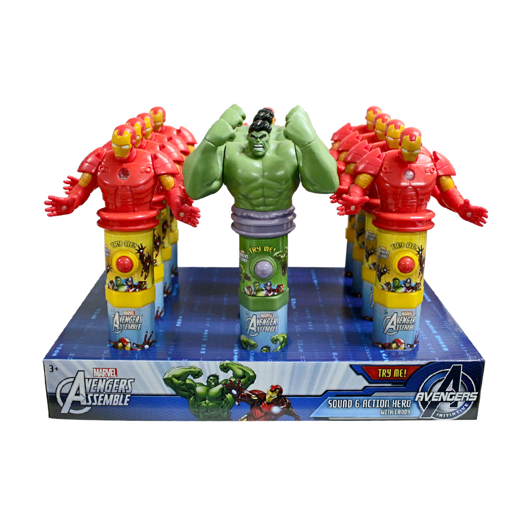 Marvel Sound and Action Hero with Candy 15g