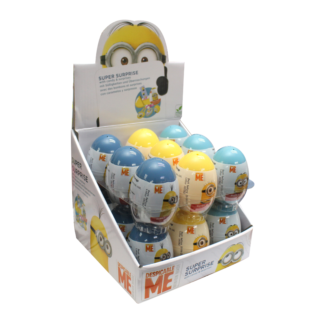 Minion Surprise Egg with Sweet and Surprises Inside 10g