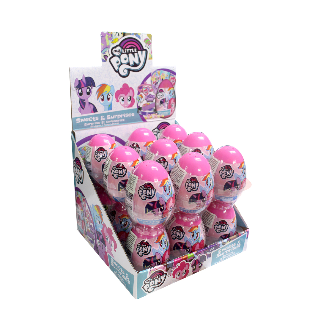 My Little Pony Surprise Eggs with Sweet and Surprises Inside 10g