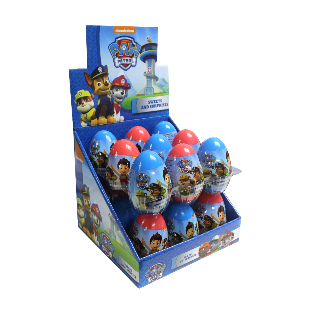Paw Patrol Surprise Egg with Sweet and Surprises Inside 10g
