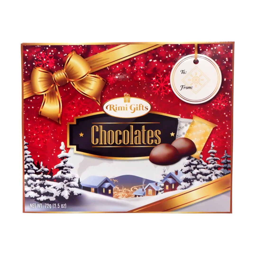 RIMI Gifts Chocolate 72g Red
