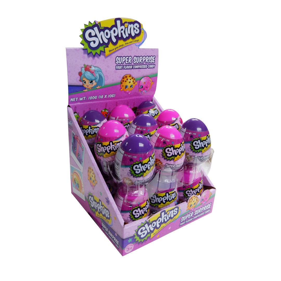 Super Surprise Fruit Flavor Compressed Candy 10g - Shopkins