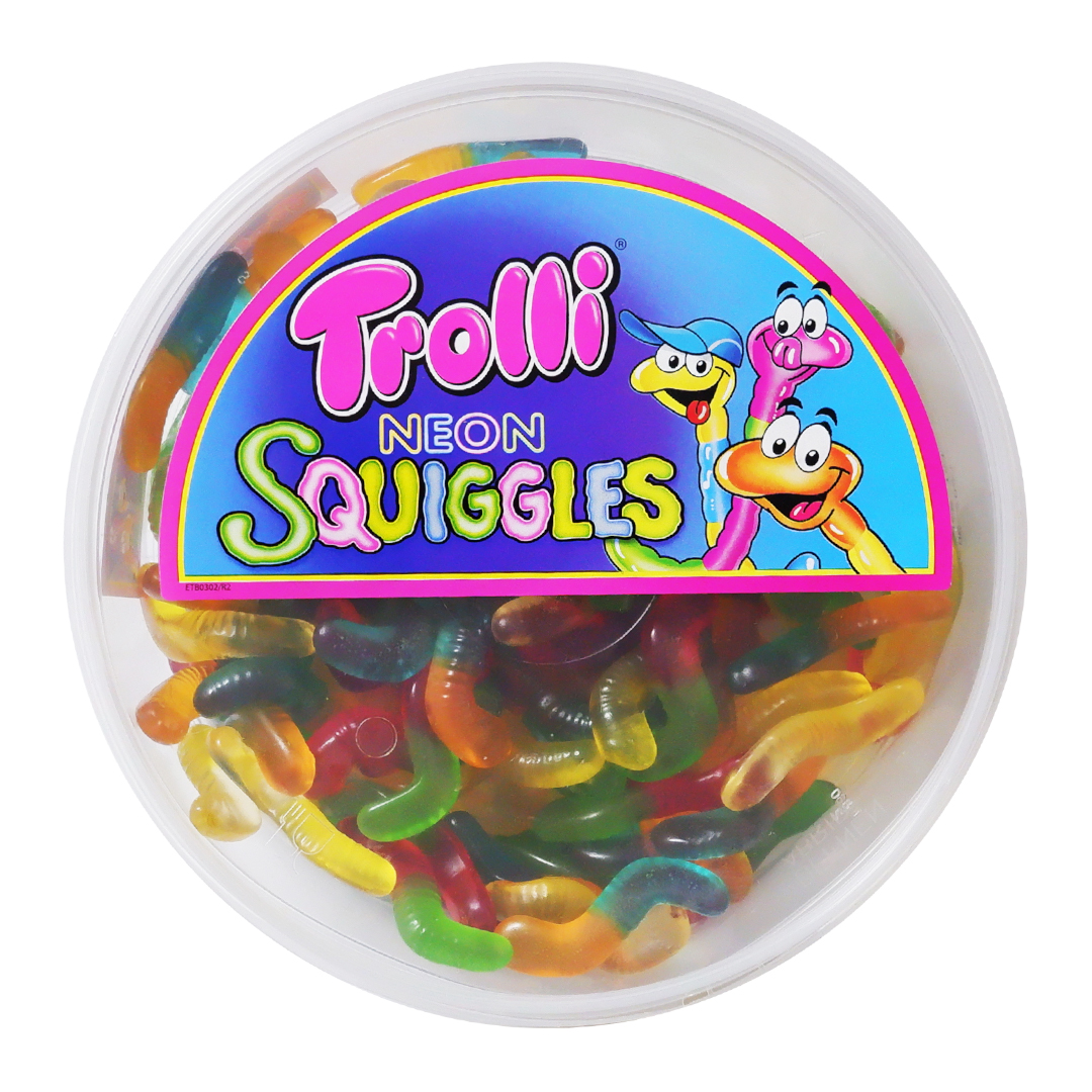 Trolli Neon Squiggles 500g