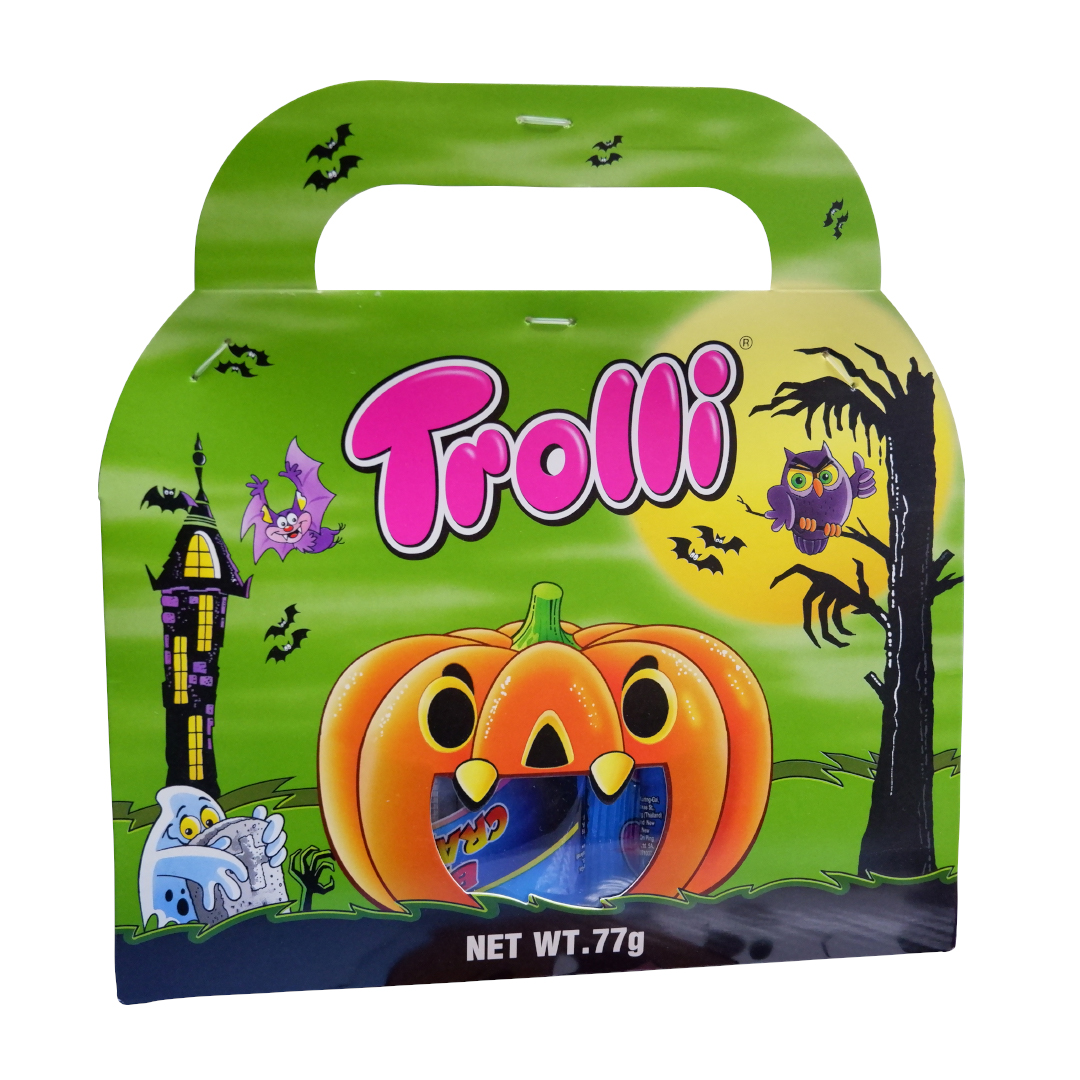 Trolli gummi candy assorted in celebration pack 77g Halloween