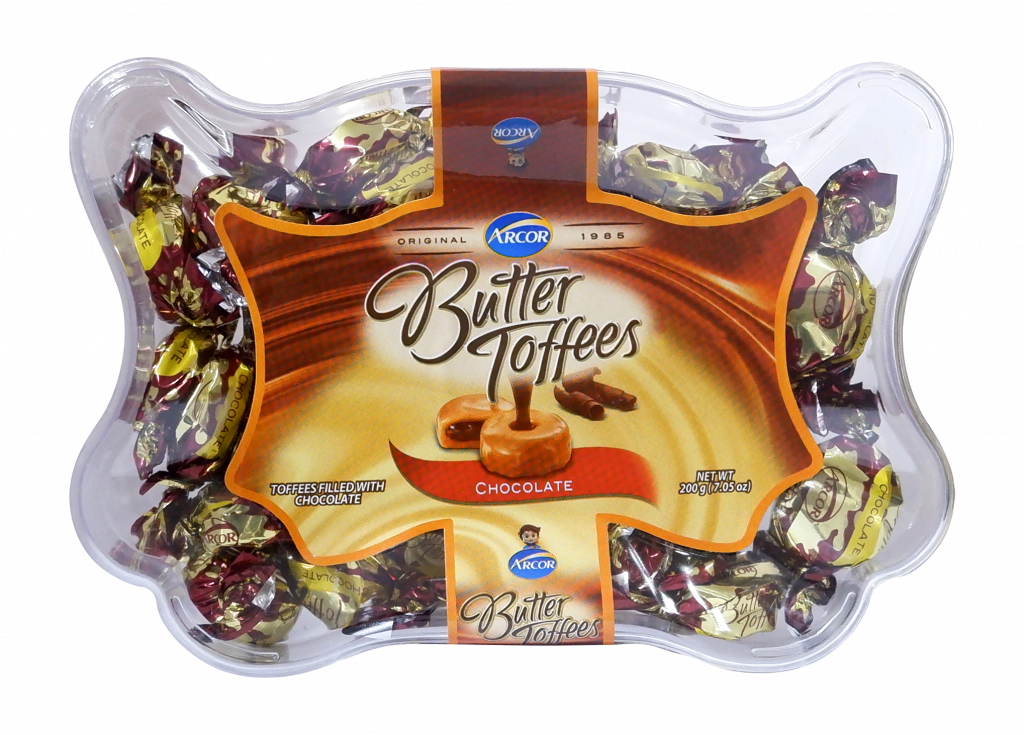 Arcor Butter Toffes Chocolate 200g