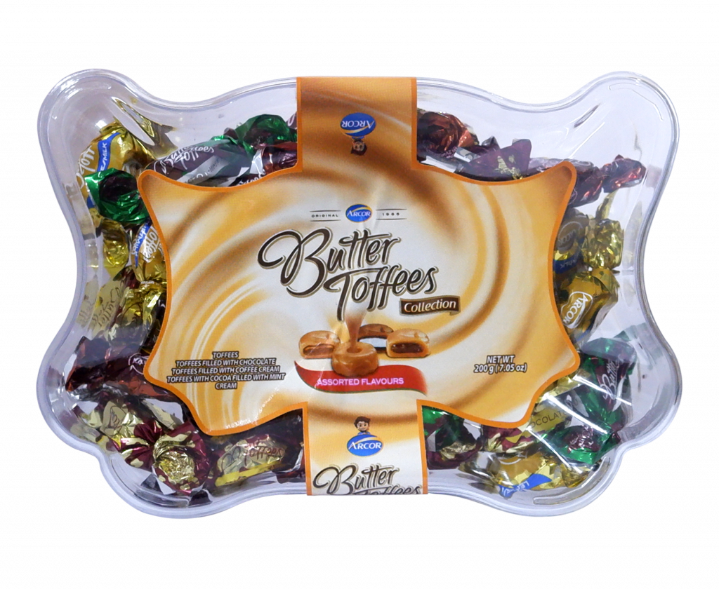 Arcor Butter Toffees Collection 200g